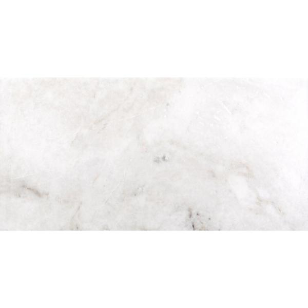 Kalta Bianco 12 in. x 24 in. Marble Floor and Wall Tile (10.01 sq. ft. / case)
