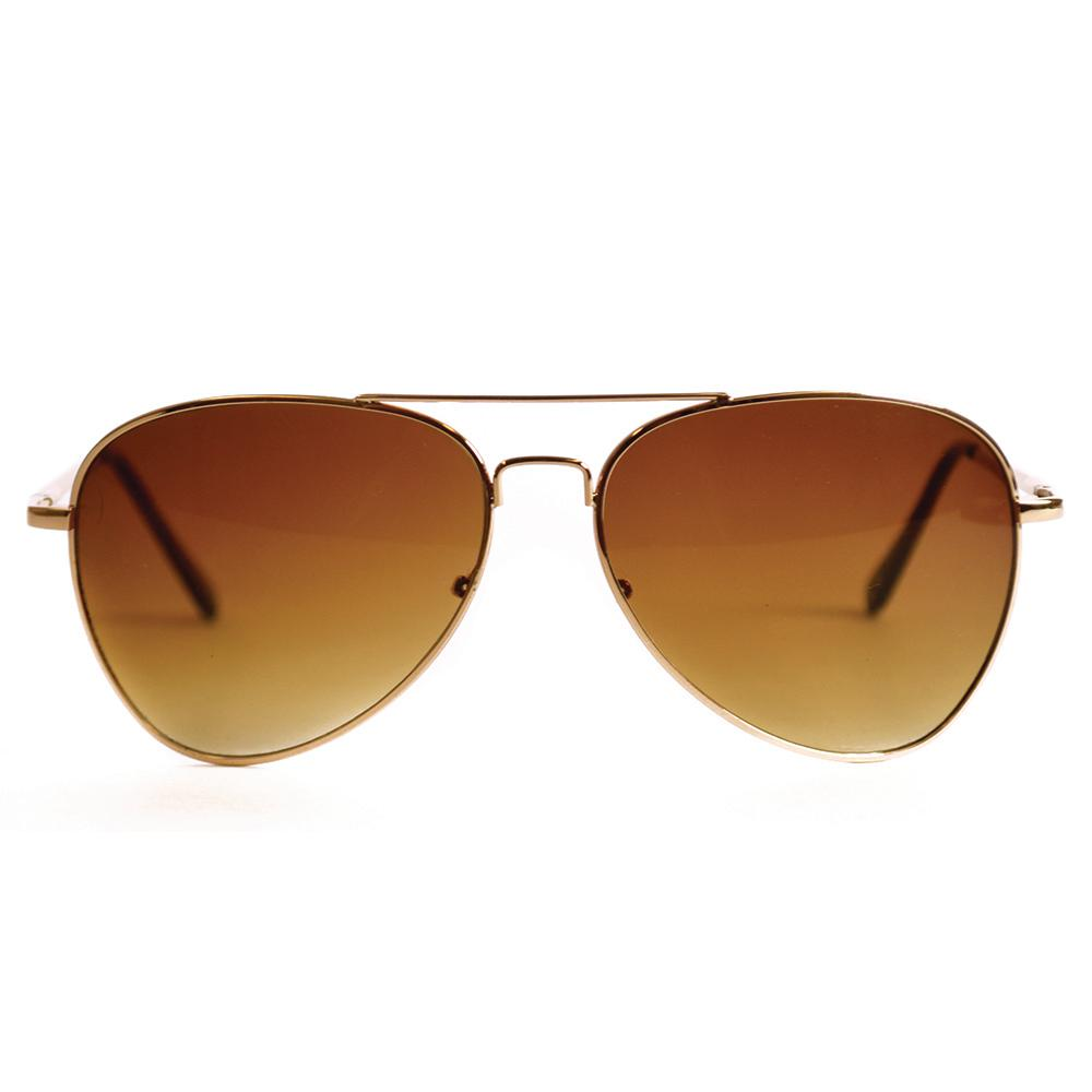 Shadedeye Gold Aviator Polarized Sunglasses-85944-16 - The Home Depot 09f65c46094