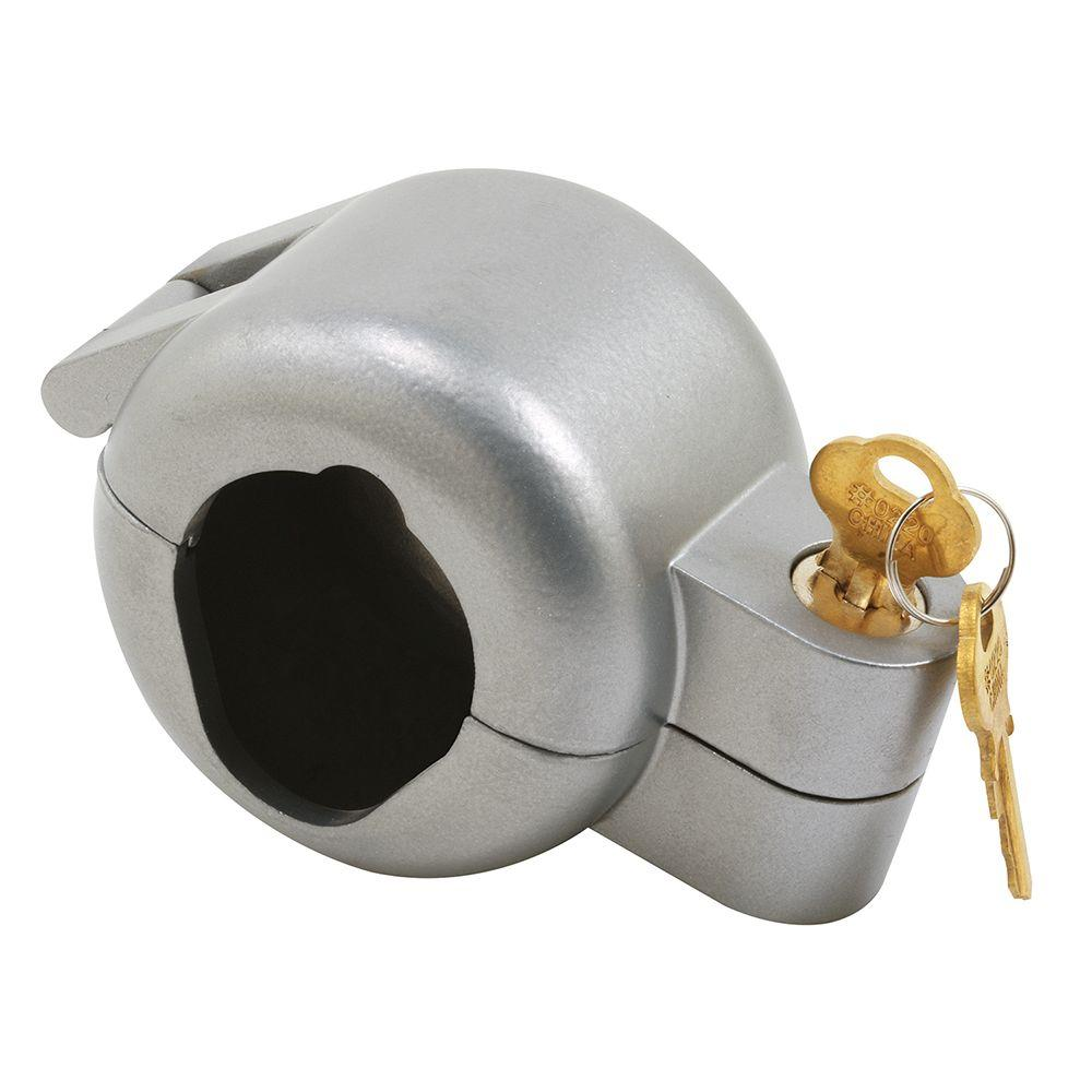 Prime Line Gray Painted Die Cast Knob Lock Out Device