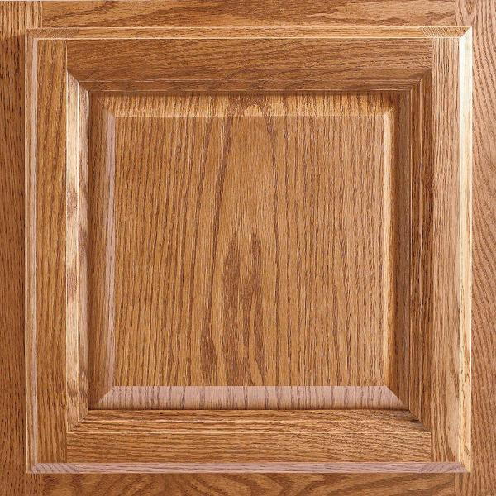 American Woodmark Portland 13 X 12 6 7 In Cabinet Door Sample In Tawny 99905 The Home Depot