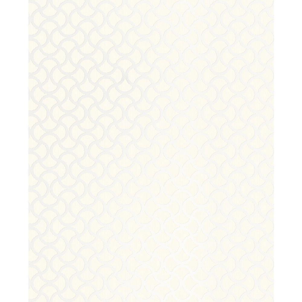 Brewster Scale Cream Geometric Wallpaper 2683-23009