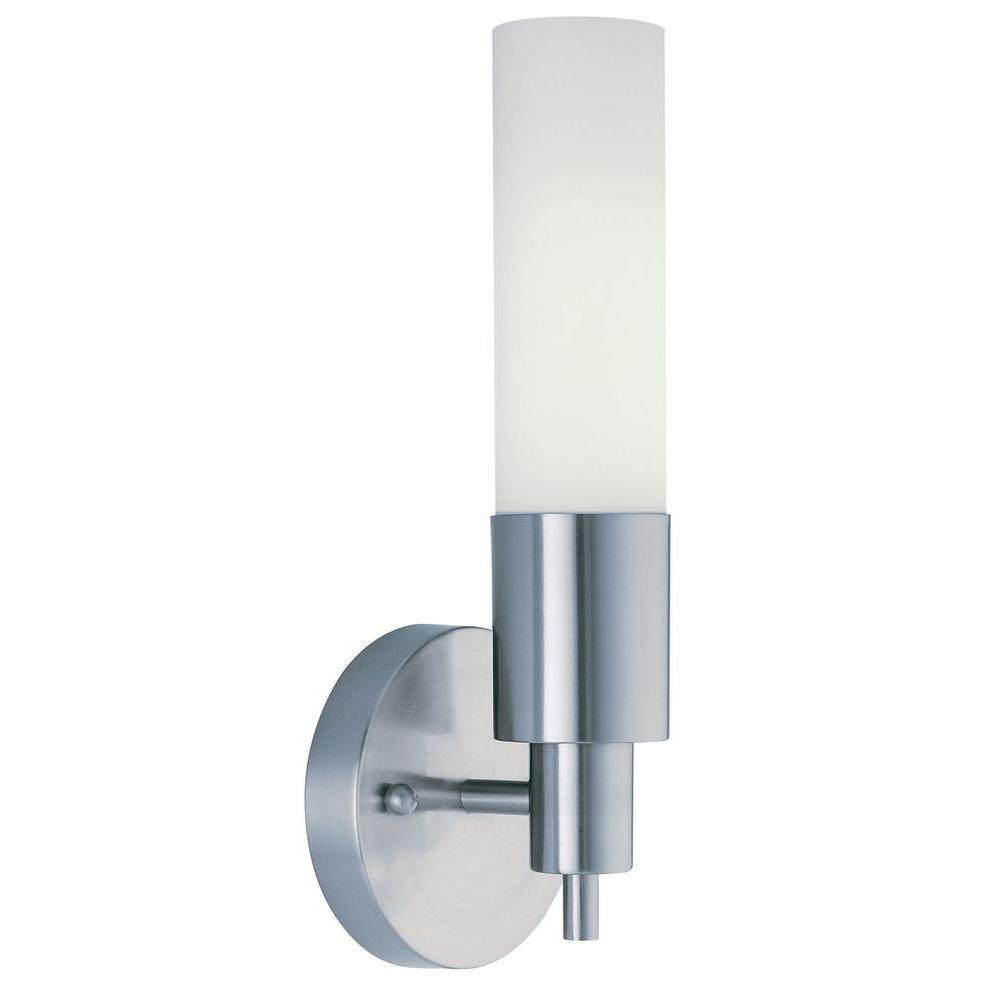 Trend Lighting Pique 1-Light Brushed Nickel Sconce