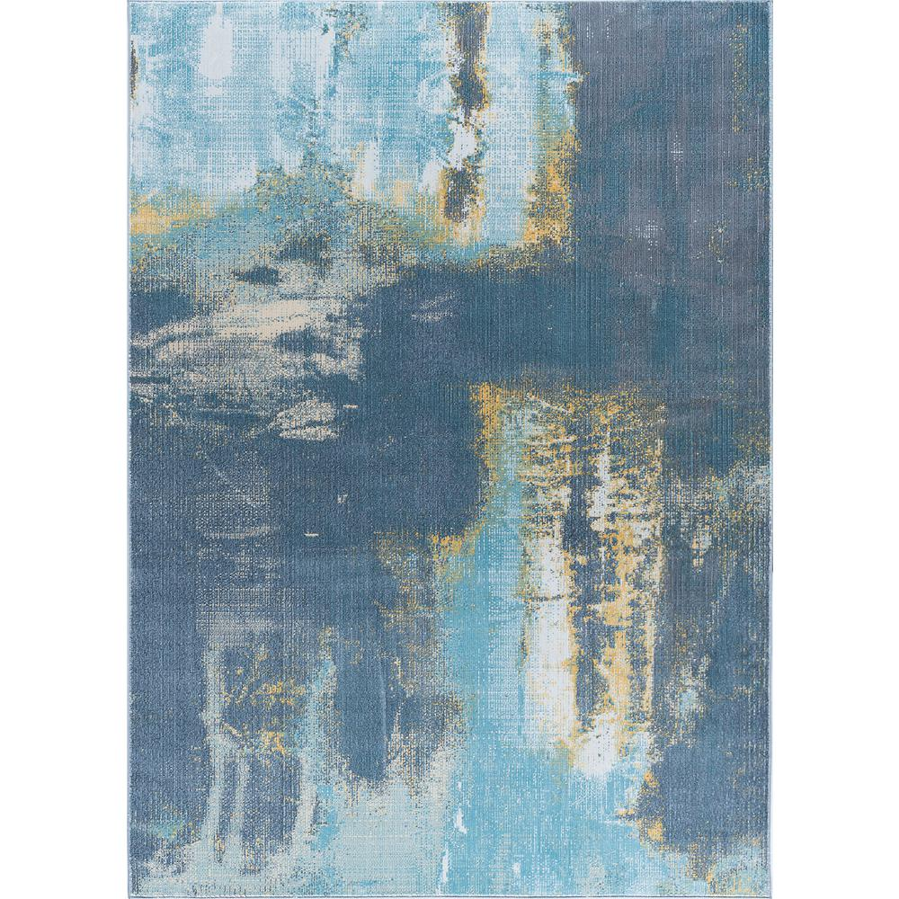 Aria Blue 5 ft. 3 in. x 7 ft. 3 in.