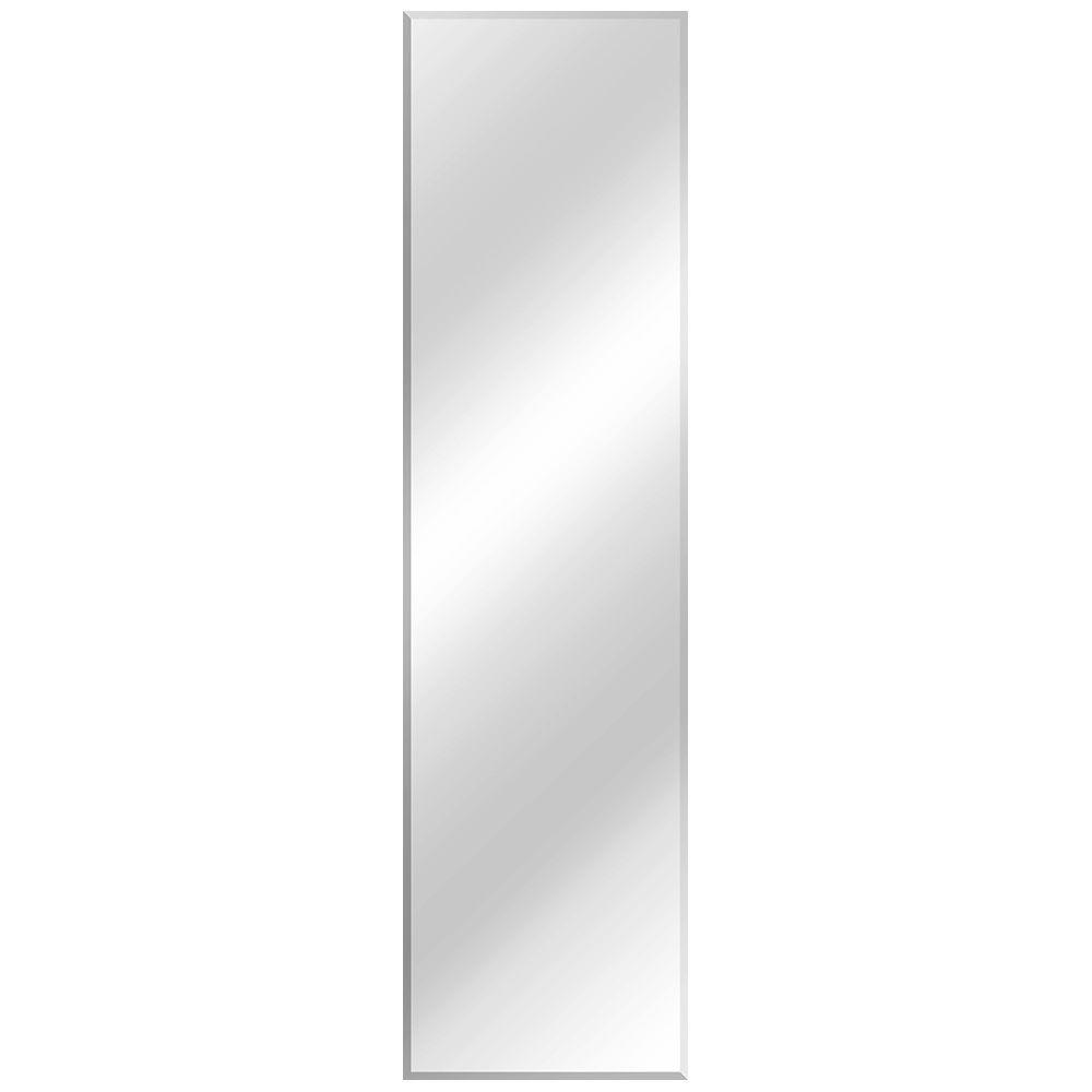 Glacier Bay 16 in. W x 60 in. L Beveled Edge Frameless Bath Mirror ...