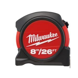 Milwaukee 8 m/26 ft. General Contractor Tape Measure by Milwaukee
