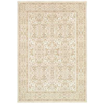Marina St. Tropez Champagne-Pearl 9 ft. x 13 ft. Area Rug
