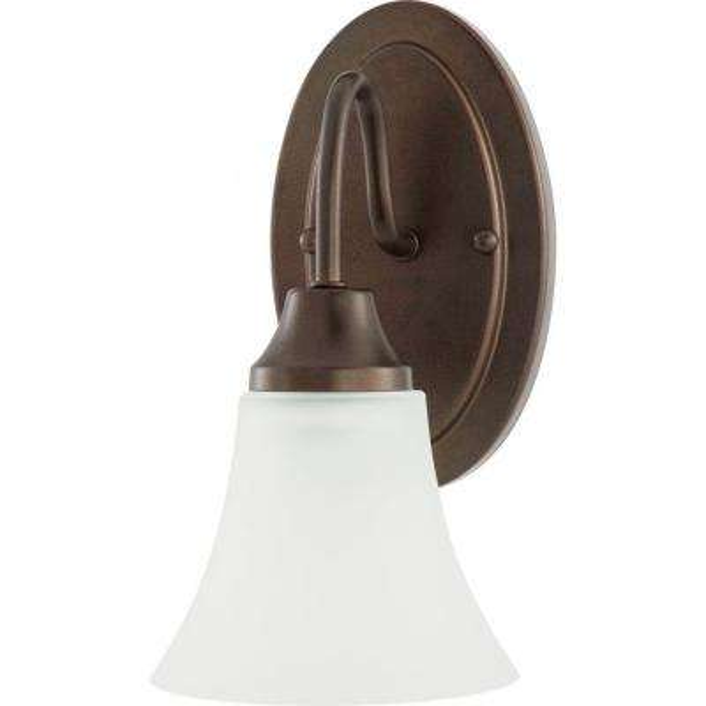 Holman 1-Light Bell Metal Bronze Sconce