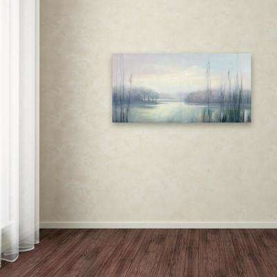 """24 in. x 47 in. """"Misty Memories"""" by Julia Purinton Printed Canvas Wall Art"""