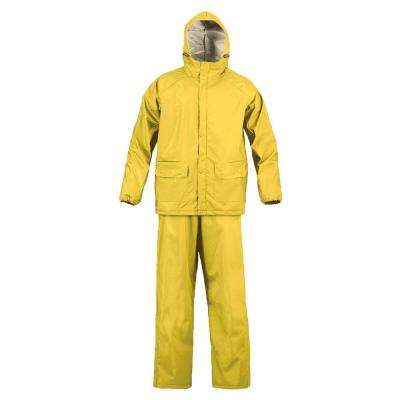 SX Medium Yellow Rainsuit