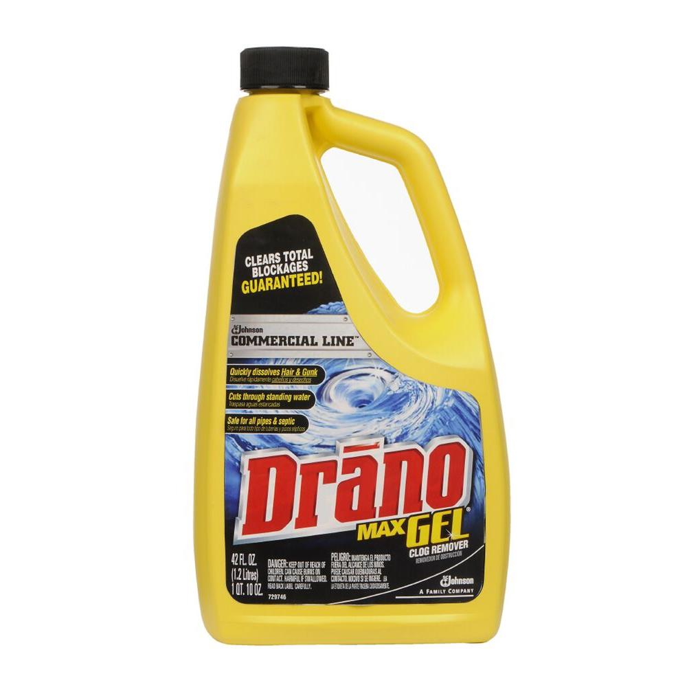 Drano 42 oz. Max Commercial Line Gel Clog Remover (8-Pack)