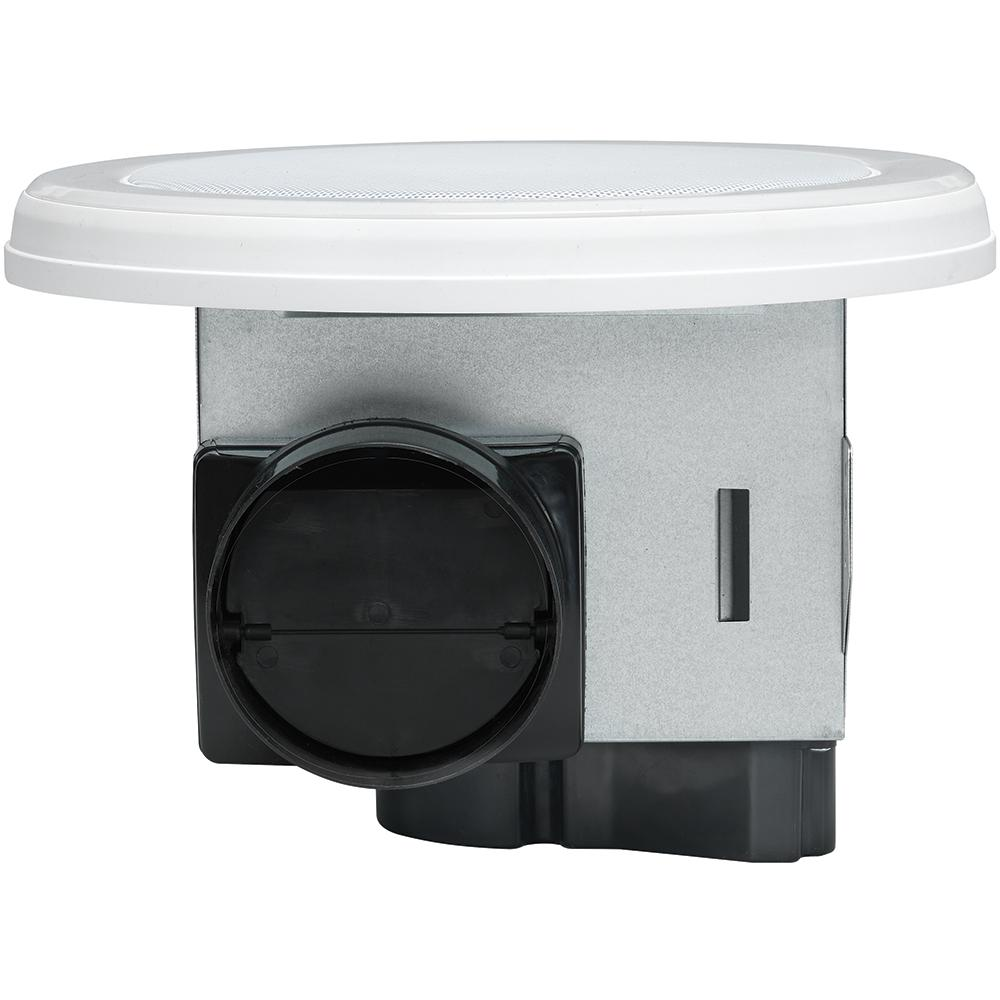 Bathroom Exhaust Fan Round w/ Bluetooth Stereo Speakers ...