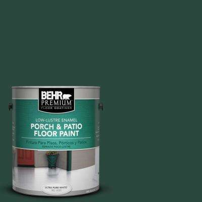 1 gal. #SC-114 Mountain Spruce Low-Lustre Porch and Patio Floor Paint