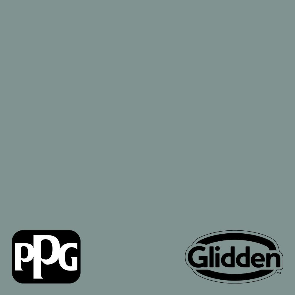 Glidden Premium 1 Qt Ppg1145 5 Scarborough Satin Exterior Latex Paint Ppg1145 5px 4sa The Home Depot