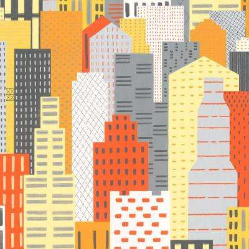 8 in. x 10 in. Laminate Sheet in Big City Landscape with Virtual Design Matte Finish