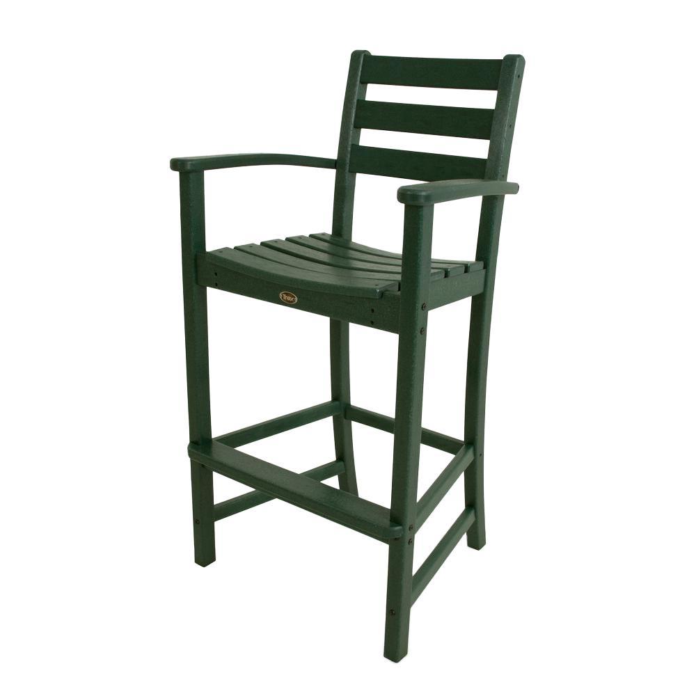 Monterey Bay Rainforest Canopy Patio Bar Arm Chair