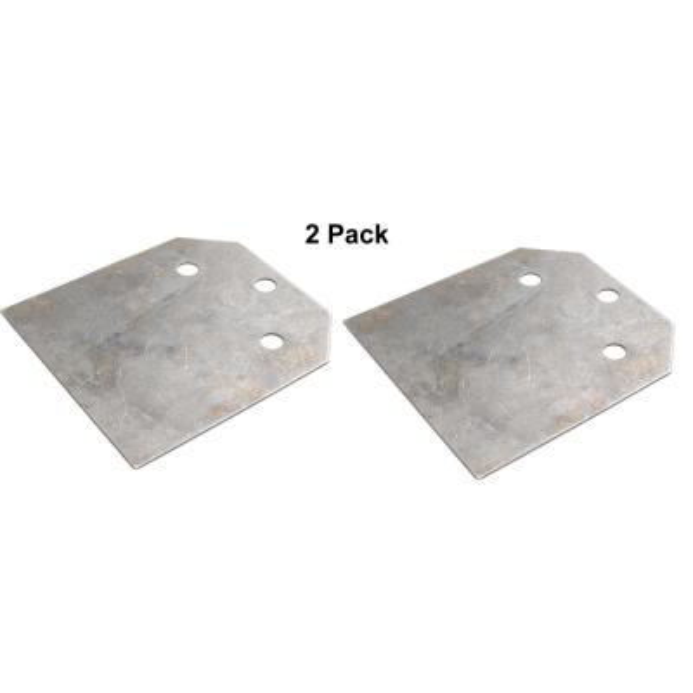 4 in. SDS-plus Floor Scraper Replacement Blade - (2-Pack)