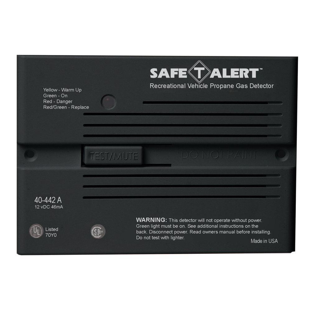 Carbon Monoxide Detectors MTI INDUSTRIES Safe-T-Alert Mini Flush ...