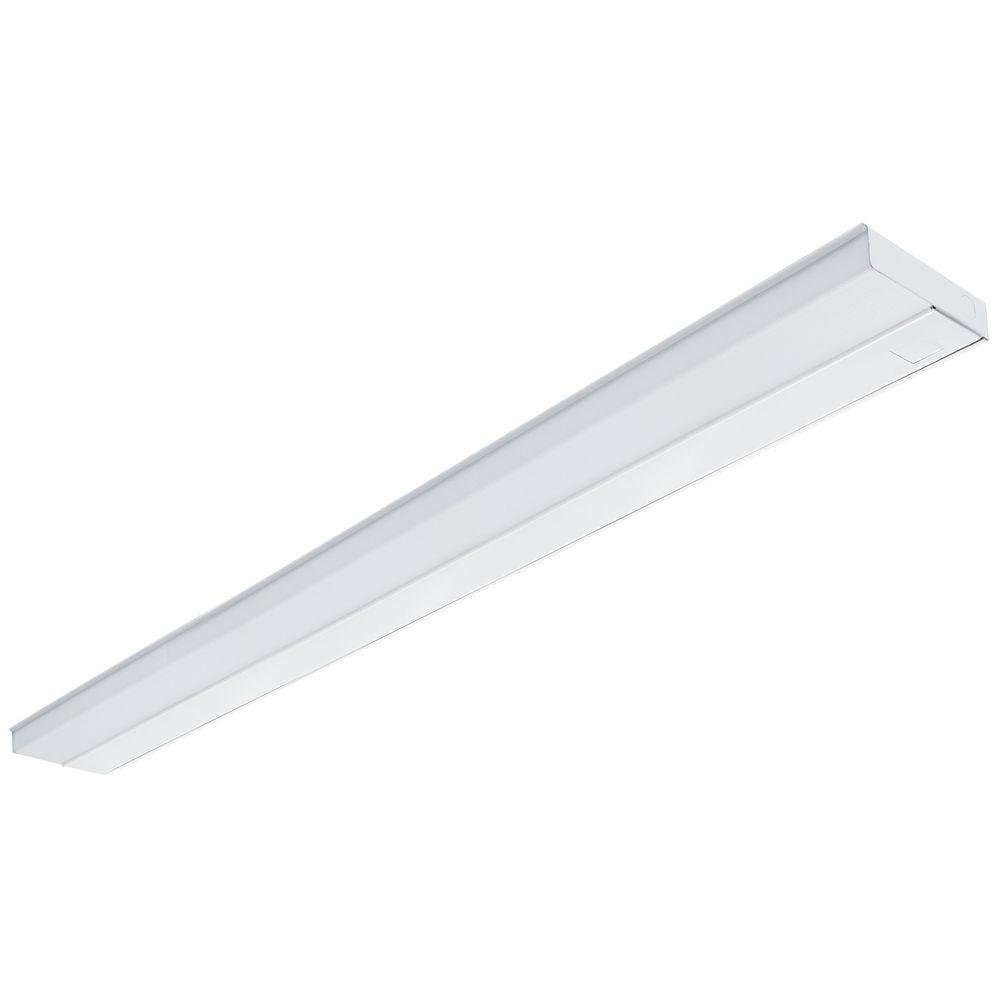 Lithonia Lighting 42 in. White T5 Fluorescent Under Cabinet Light-UC ...