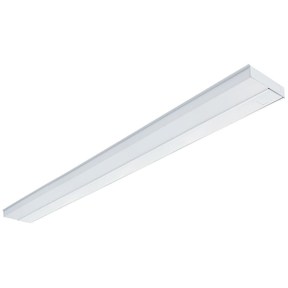 Lithonia Lighting 42 In White T5 Fluorescent Under Cabinet Light