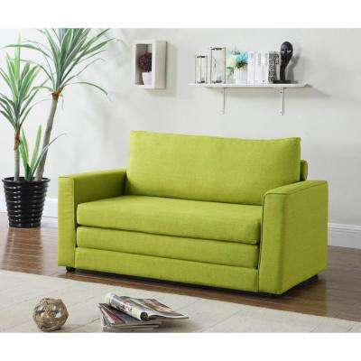 lime green sofas loveseats living room furniture the home depot