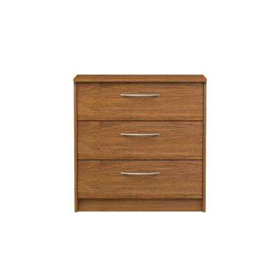 Oriole 3-Drawer Bank Alder Chest
