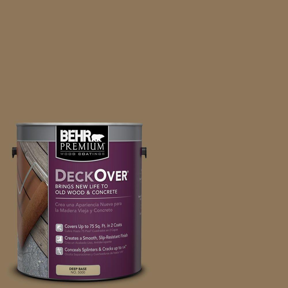 BEHR Premium DeckOver 1 gal. #SC-153 Taupe Wood and Concrete Coating