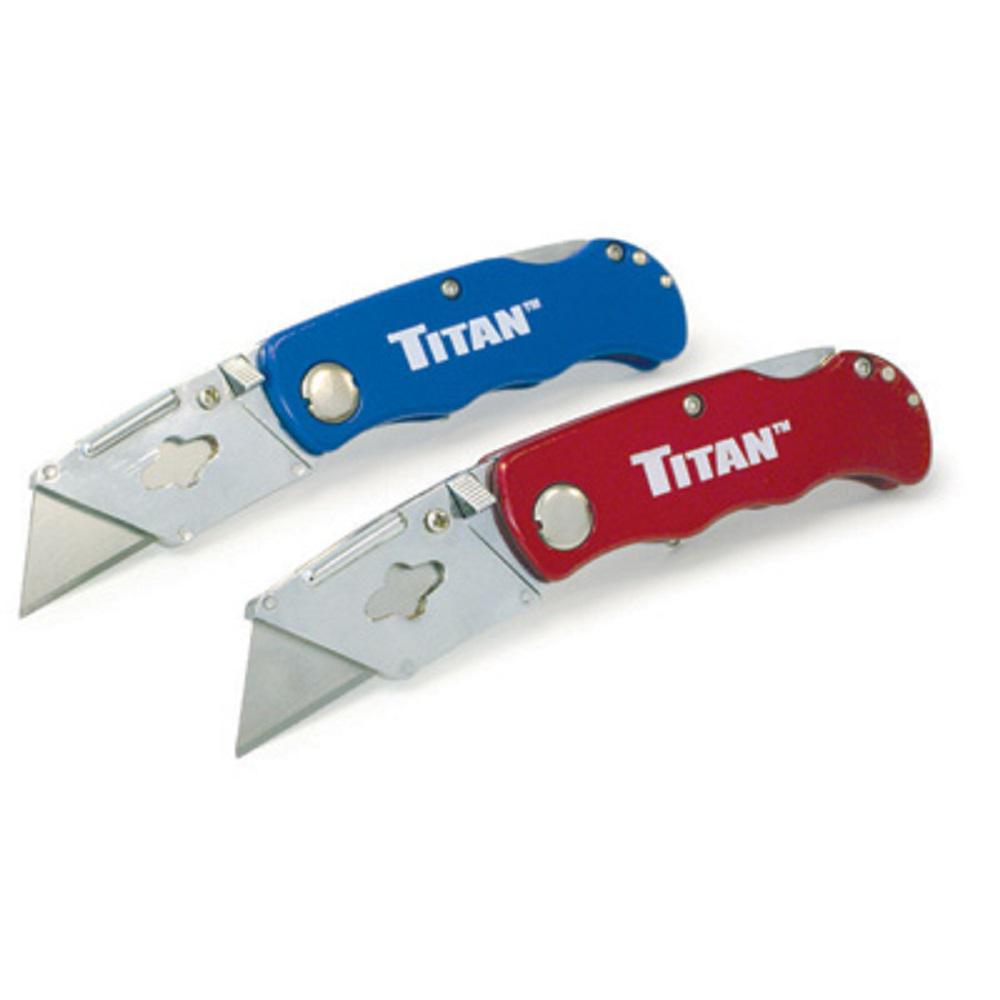 Titan Folding Pocket Utility Knife (2-Pack) by Titan