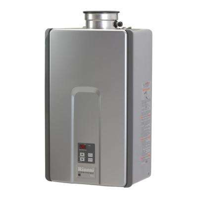 High Efficiency Plus 7.5 GPM Residential 180,000 BTU Natural Gas Interior Tankless Water Heater