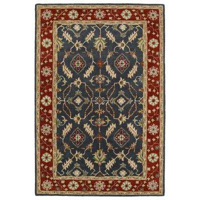 Middleton Charcoal 8 ft. x 10 ft. Area Rug