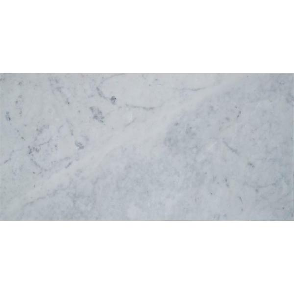 Msi Carrara White 3 In X 6 In Polished Marble Floor And Wall Tile 1 Sq Ft Case Tcarwht36p The Home Depot