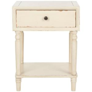 Incroyable Safavieh Siobhan Vintage Cream Storage End Table AMH6611D   The Home Depot