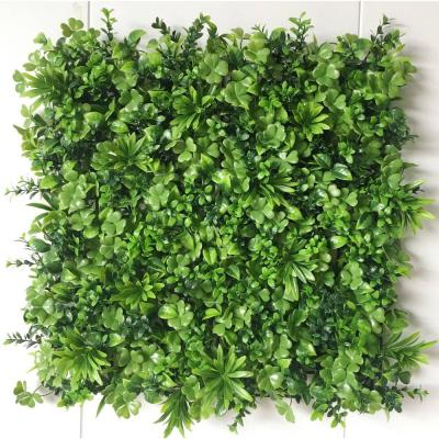 """20"""" x 20"""" Winter Gem Leaves-Artificial Japanese Boxwood Hedges, Living Wall Panels (12 pcs)"""