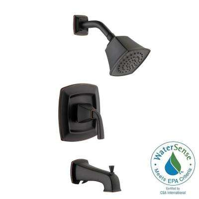 Mason Single-Handle 1-Spray Tub and Shower Faucet in Bronze