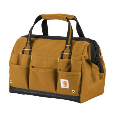 Legacy 14 in. Brown Tool Bag