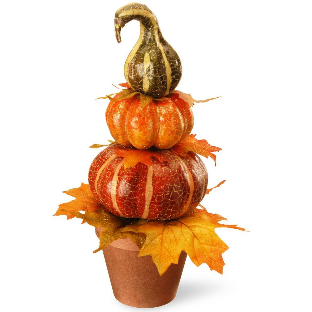 National Tree Company 15 in. Pumpkin Decor