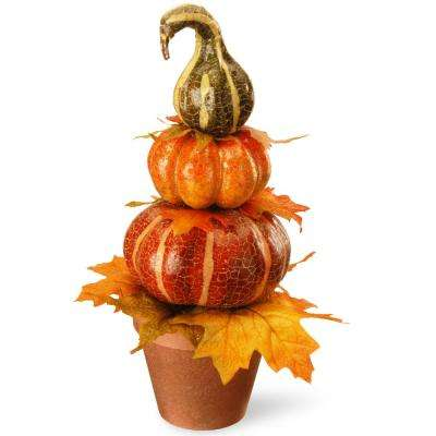 15 in. Pumpkin Decor