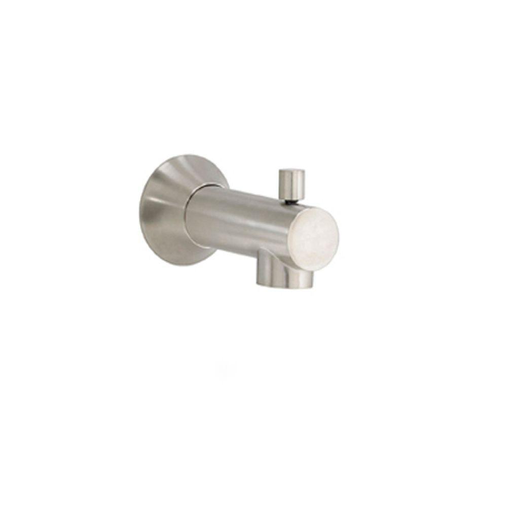 Berwick Slip-On Diverter Tub Spout in Brushed Nickel