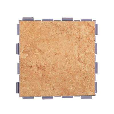 Mocha 6 in. x 6 in. Porcelain Floor Tile (3 sq. ft. / case)
