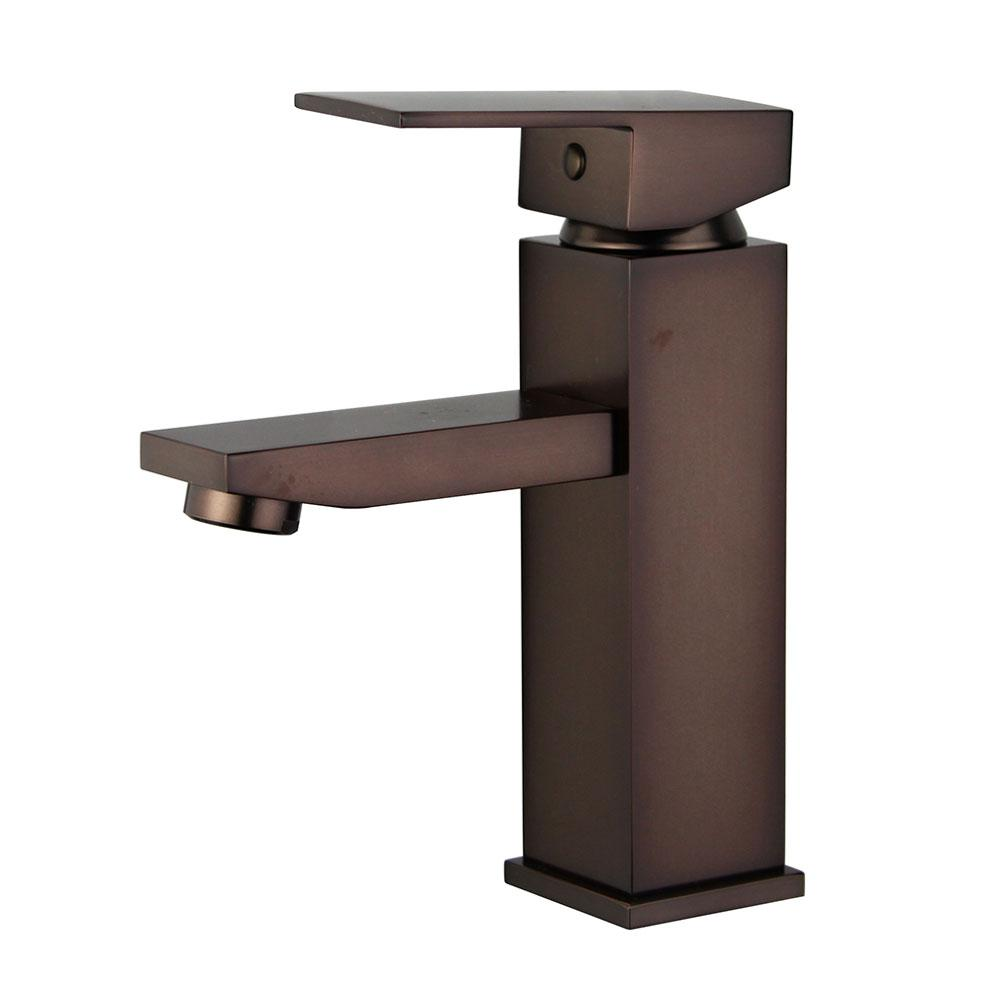 Granada Single Hole Single-Handle Bathroom Faucet with Overflow Drain in Oil