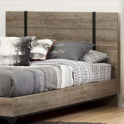 Valet Weathered Oak Full/Queen Headboard