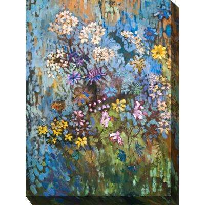 "30 in. x 40 in. ""Summer'S Legacy"" Outdoor Canvas Wall Art"