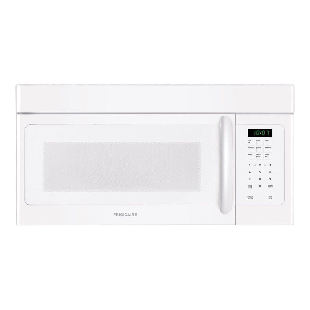 Frigidaire 30 in. W 1.6 cu. ft. Over the Range Microwave in White