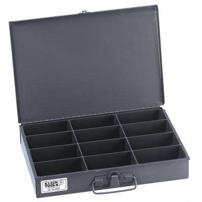 13 in. 12-Compartment Mid-Size Storage Box