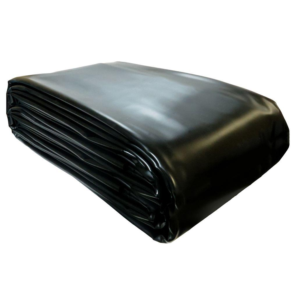 Pond Building Series 14 ft. x 20 ft. 1800 gal. Pond Liner Extra Large Fish Grade