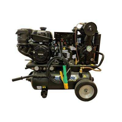 3-in-1 14 HP 5000-Watt Gas Powered Portable Generator with 2-Stage 20-Gal. Air Compressor and 190 AMP Stick Welder