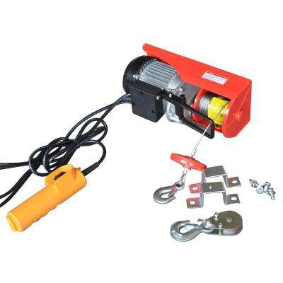 440 lb. Capacity Electric Hoist with Remote Control