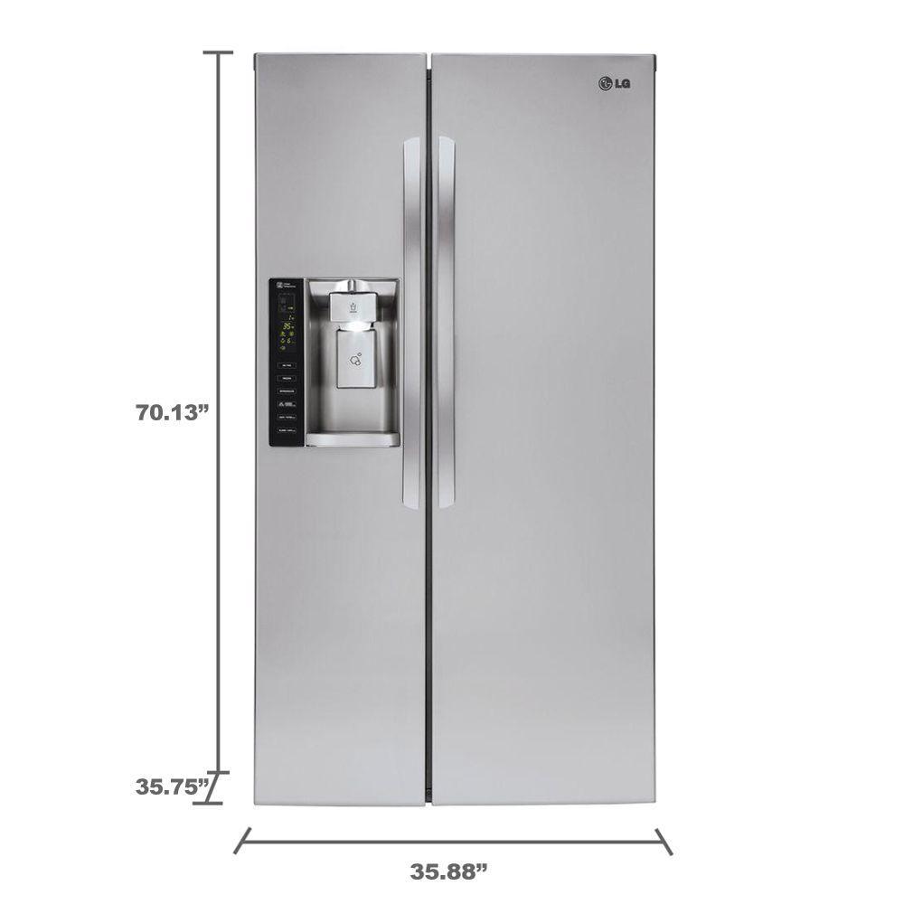lg refrigerator lsxs26326s. +12 lg refrigerator lsxs26326s x
