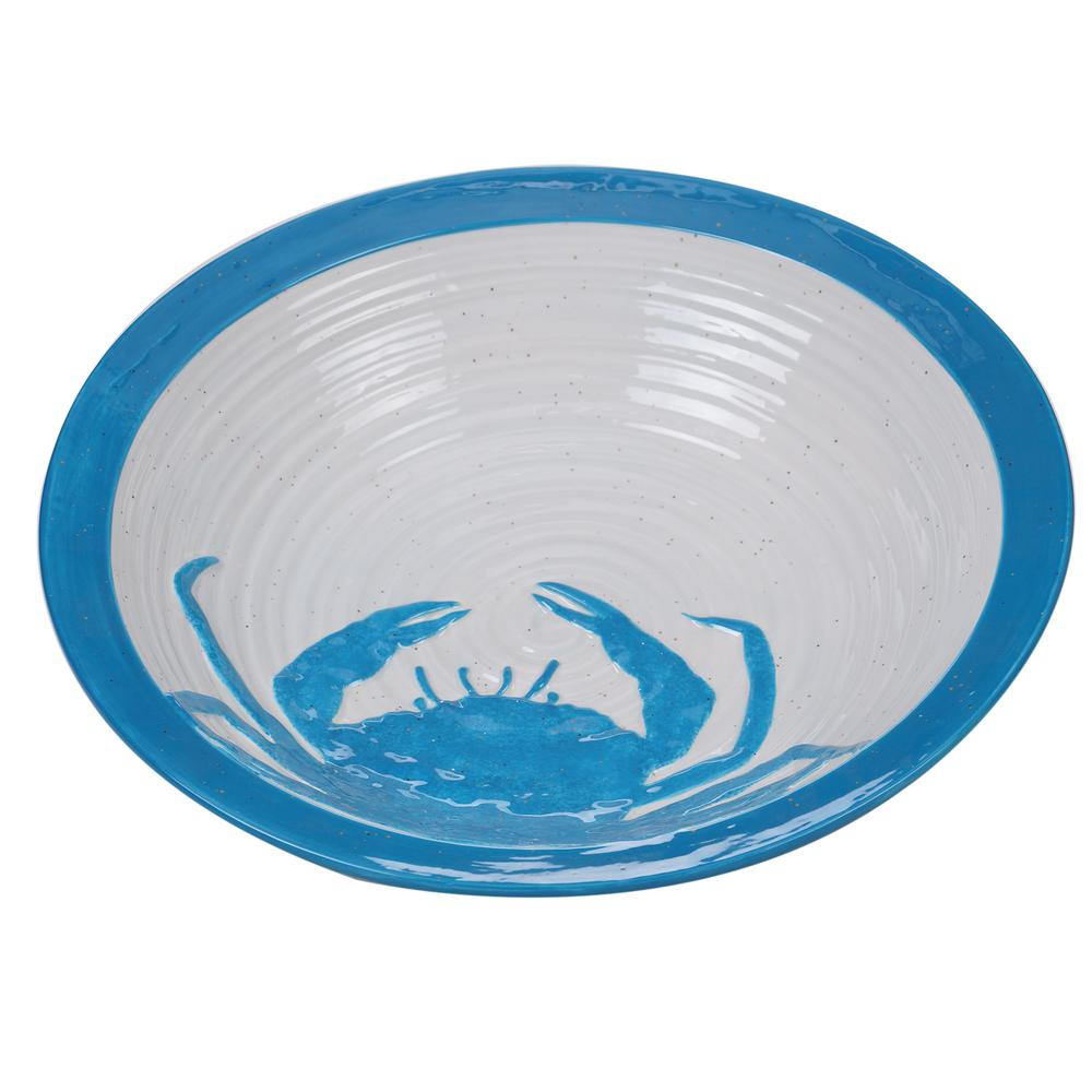 Natural Coast Multi-Colored 13 in. Serving/Pasta Bowl