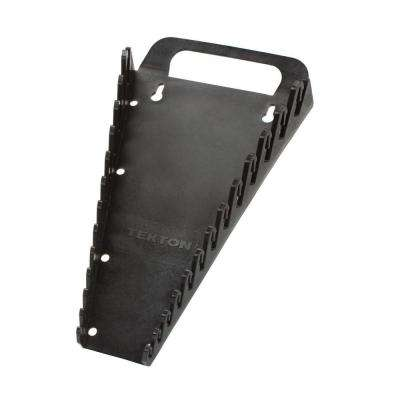 6.75 in. 13-Tool Store-and-Go Wrench Rack Keeper in Black
