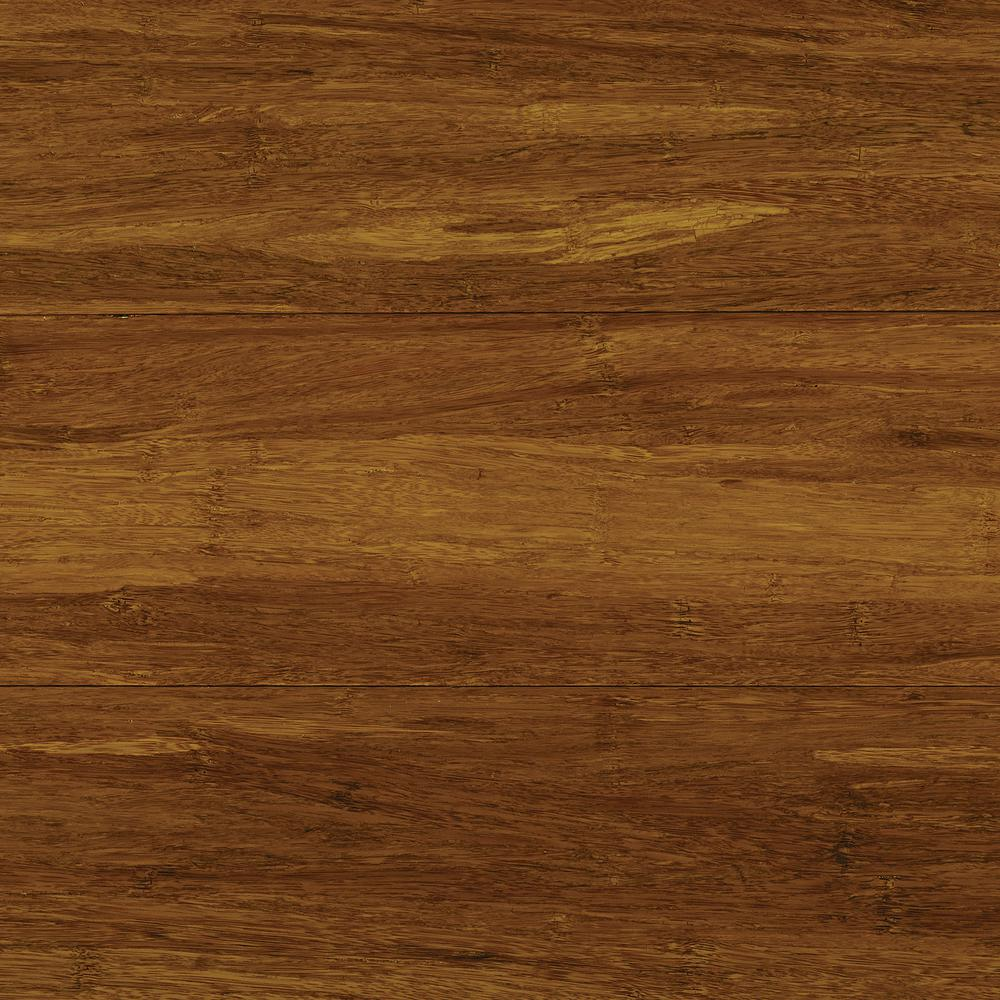 Take Home Sample - Strand Woven Harvest Click Lock Bamboo Flooring
